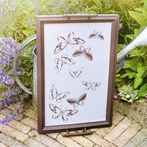 dienblad vlinders