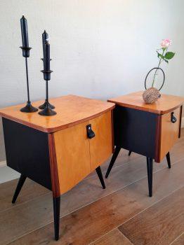 vintage nachtkastjes